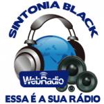 Logo da emissora Rádio Sintonia Black