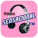 Logo da emissora Rádio Sensacional FM