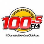 Logo da emissora Radio Fernando 100.5 FM
