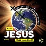 Logo da emissora Rádio Jesus Está Com Você