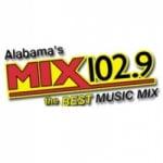Logo da emissora WKXX 102.9 FM Mix