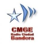 Logo da emissora Radio Ciudad Bandera 99.7 FM