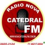 Logo da emissora Rádio Nova Catedral FM