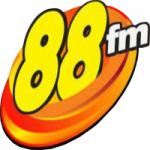 Logo da emissora Rádio 88 FM Camaçari