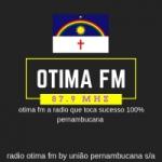 Logo da emissora Rádio Otima FM