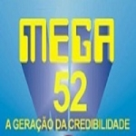 Logo da emissora Rádio Mega 52