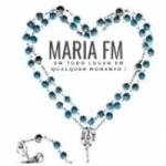 Logo da emissora Rádio Maria FM