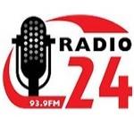 Logo da emissora Radio 24 93.9 FM