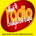 Logo da emissora Web Rádio Evangeliza Icapuí CE
