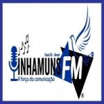 Logo da emissora Inhamuns FM