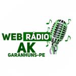 Logo da emissora Web Rádio AK Garanhuns