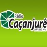 Logo da emissora Rádio Caçanjurê 1110 AM