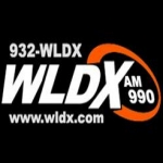 Logo da emissora WLDX 990 AM