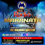 Logo da emissora Web Rádio Maranata