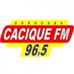 Logo da emissora Rádio Cacique 96.5 FM
