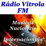 Logo da emissora Rádio Vitrola FM