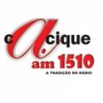 Logo da emissora Rádio Cacique 1510 AM