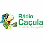 Logo da emissora Rádio Caçula 96.9 FM