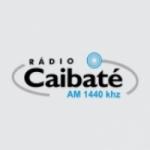 Logo da emissora Rádio Caibaté 1440 AM