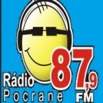 Logo da emissora Rádio Pocrane 87.9 FM