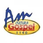 Logo da emissora Rádio Cultura Gospel 1140 AM