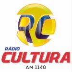 Logo da emissora Rádio Cultura 1140 AM
