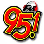 Logo da emissora Rádio Manancial Iguassu 95.1 FM