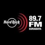 Logo da emissora Radio Hard Rock 89.7 FM