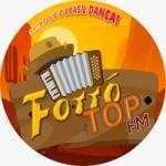 Logo da emissora Forró Top FM