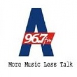 Logo da emissora RhadioA 96.7 FM