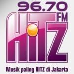 Logo da emissora Radio Hitz 96.7 FM