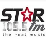 Logo da emissora STAR 105.5 FM
