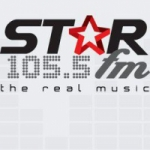 Logo da emissora Radio Star 105.5 FM