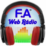Logo da emissora F.A Web Radio