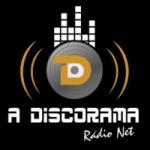 Logo da emissora Rádio A Discorama