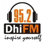 Logo da emissora Radio DhiFM 95.2 FM