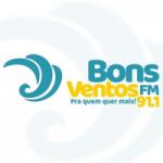 Logo da emissora Rádio Bons Ventos 91.1 FM