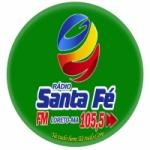 Logo da emissora Rádio Santa Fé FM