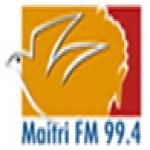 Logo da emissora Maitri 99.4 FM