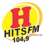 Logo da emissora Rádio Hits 104.9 FM