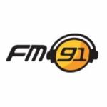 Logo da emissora Radio FM 91.0
