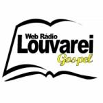 Logo da emissora Web Rádio Louvarei Gospel