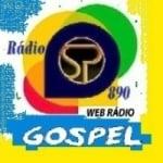 Logo da emissora Rádio SP 890 Gospel