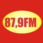 Logo da emissora Rádio Castanha 87.9 FM