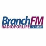 Logo da emissora Radio Branch 101.8 FM