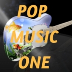 Logo da emissora Pop Music One