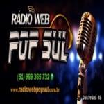Logo da emissora Rádio Web Pop Sul