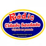 Logo da emissora Rádio Cidade Saudade
