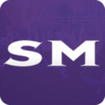Logo da emissora Rádio Som Mix - Brasília DF