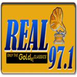Logo da emissora Radio Real 97.1 FM